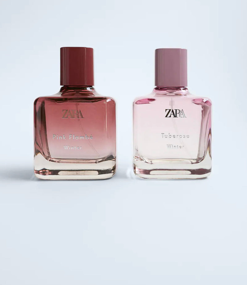 ZARA PINK FLAMBE WINTER 100 ML + TUBEROSE WINTER 100 ML