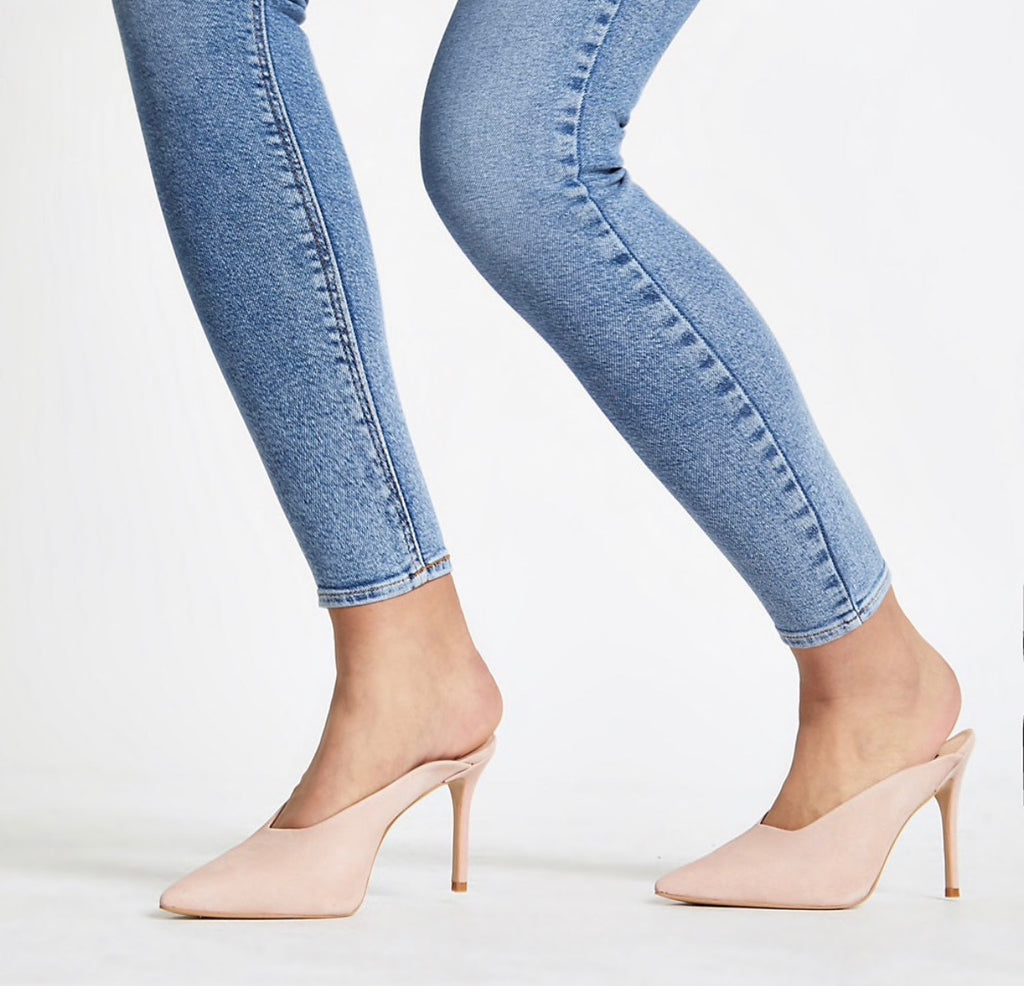 RIVER ISLAND CUT OUT MULES