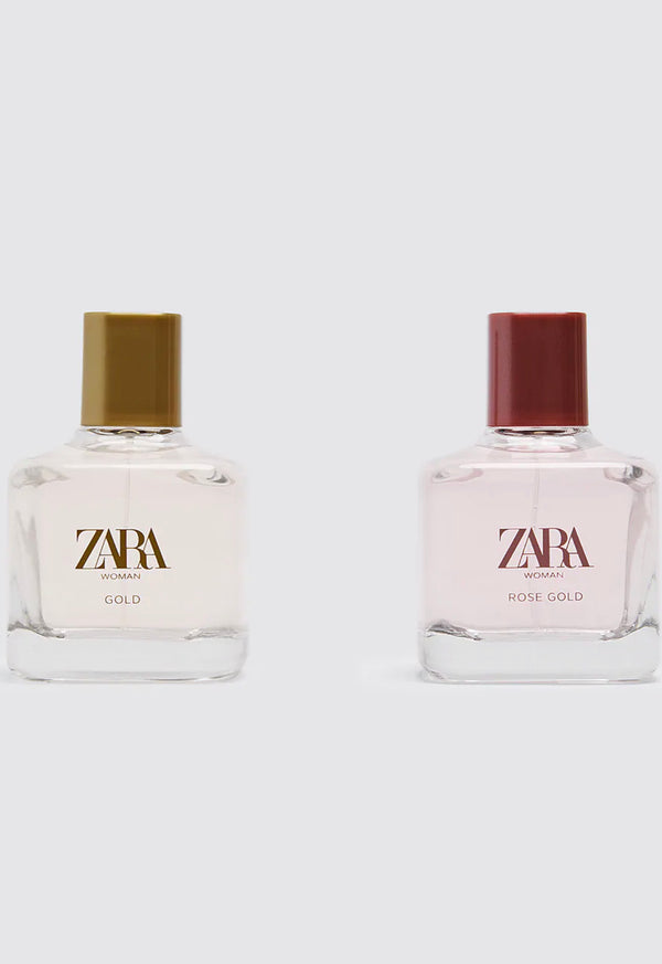 ZARA WOMAN GOLD + WOMAN ROSE GOLD 80ML