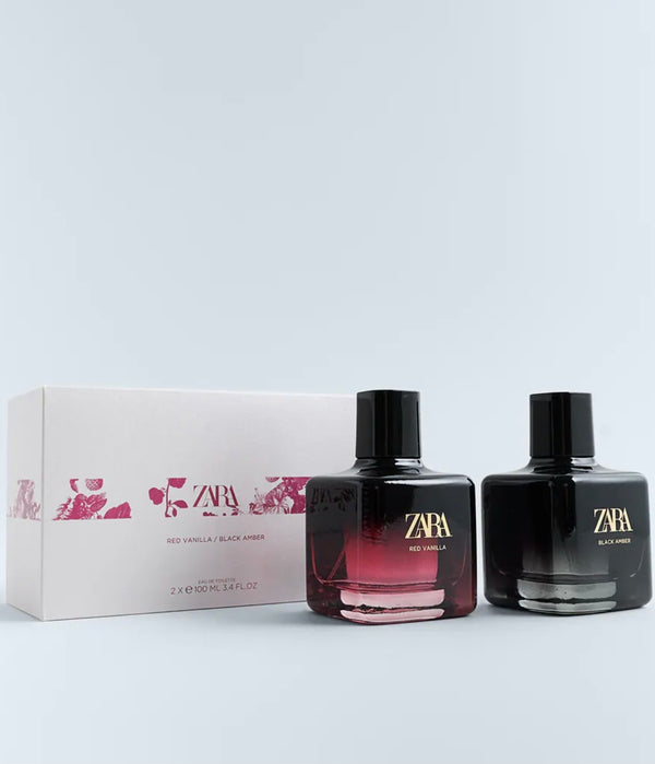 ZARA RED VANILLA 100 ML + BLACK AMBER 100 ML