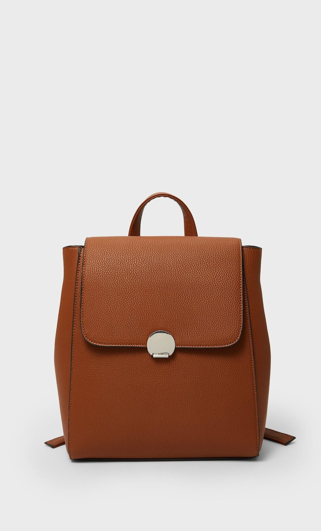 STRADIVARIUS BACKPACK WITH TRIM LOCK CLASP