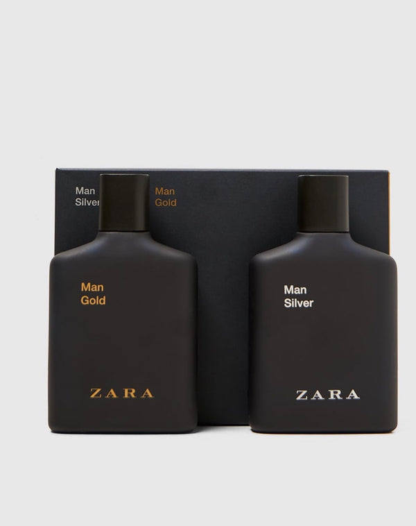 ZARA MAN GOLD + SILVER 100ML