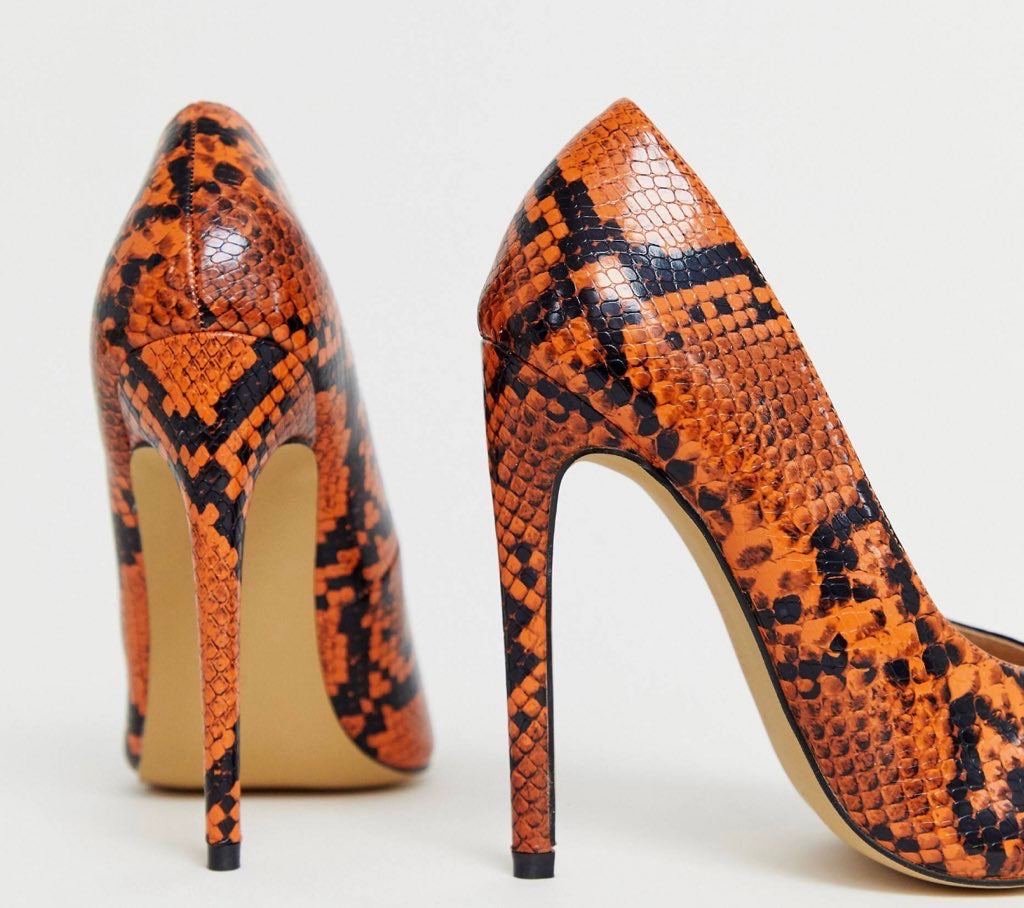 LOST INK SNAKE PRINT PUMP