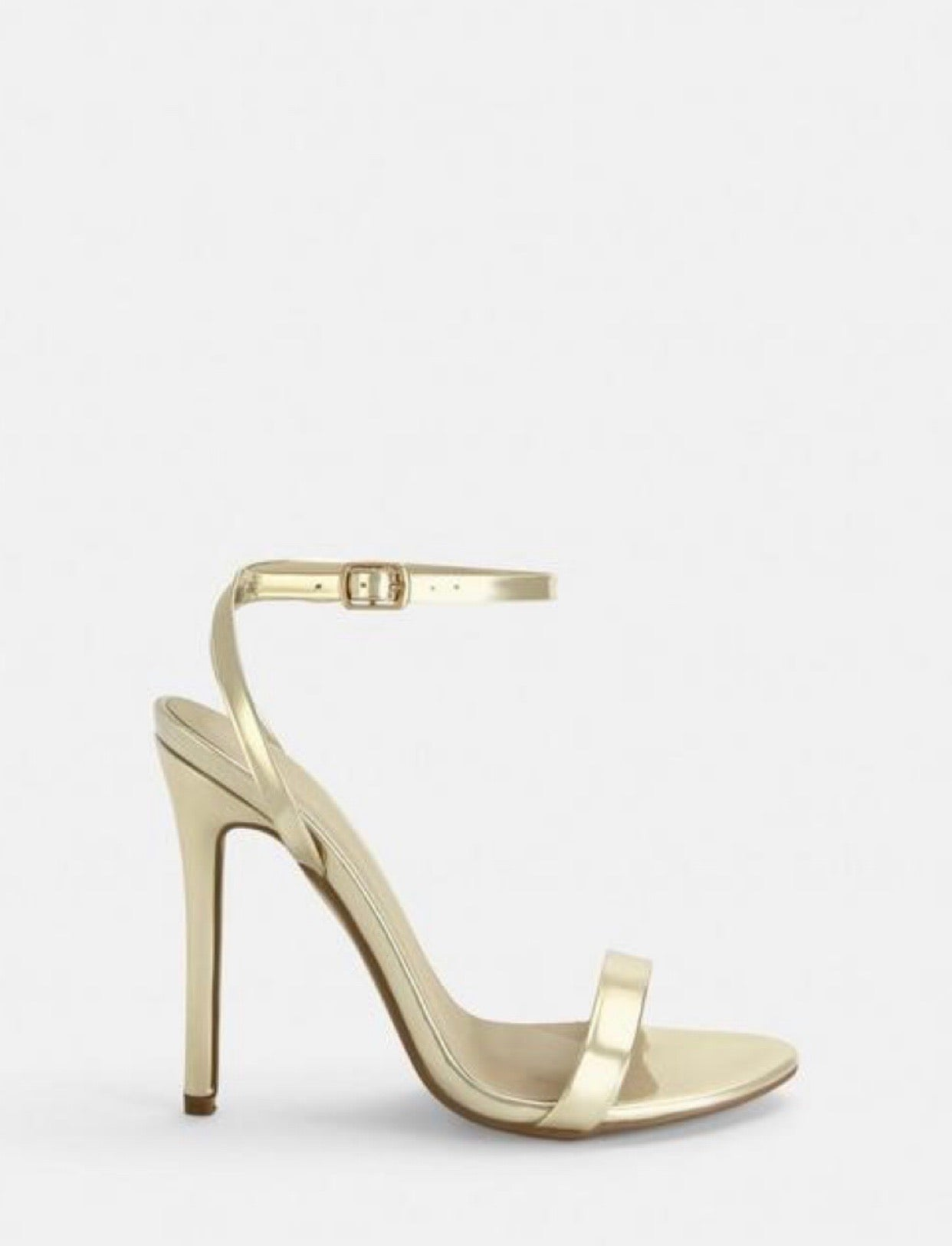 MISSGUIDED BARELY THERE STRAPPY SANDAL