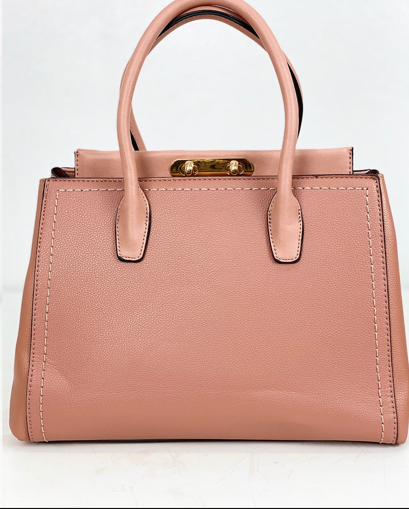 IMAOPE BLUSH STRUCTURED TOTE