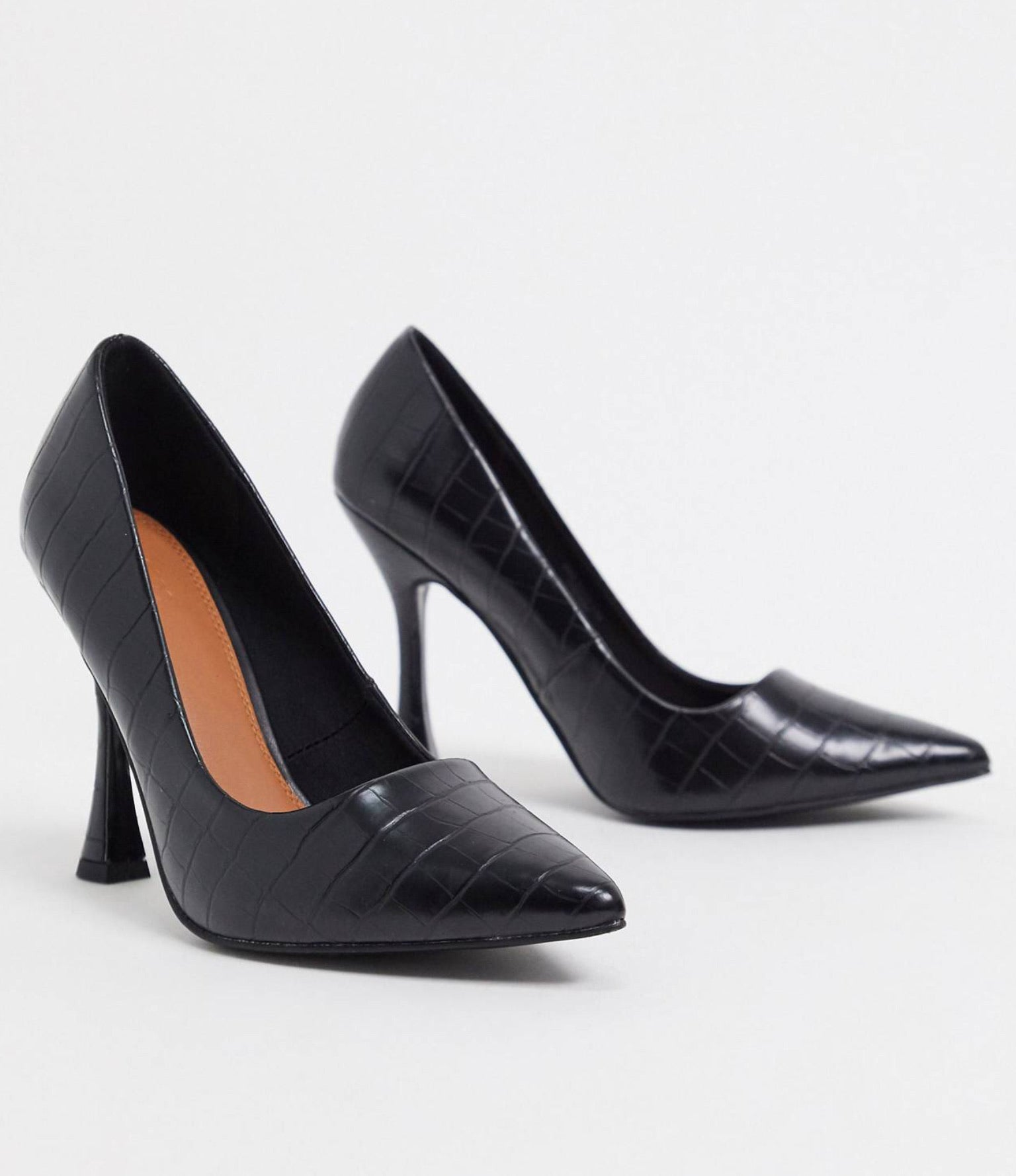 ASOS DESIGN PIPPA POINTED COURT SHOES