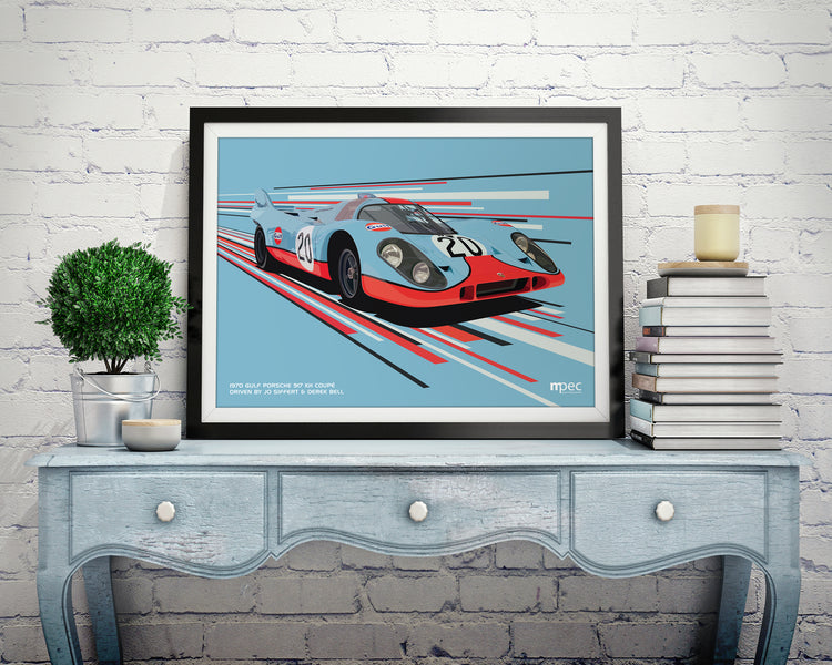 NEW Race Collection - Porsche 917 in Gulf livery