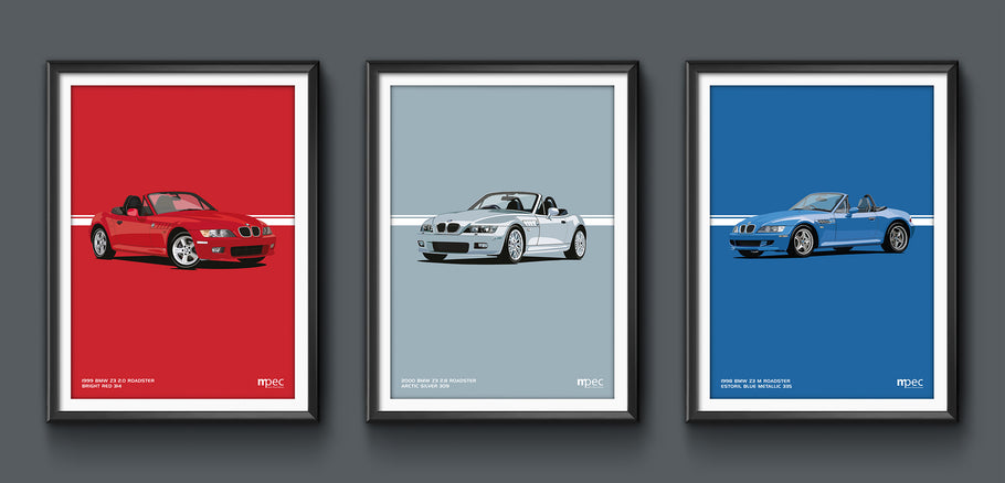 Launch of website to sell prints of my classic car artwork