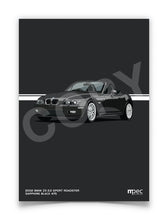 Load image into Gallery viewer, Illustration 2002 BMW Z3 2.2 Roadster Sapphire Black 475