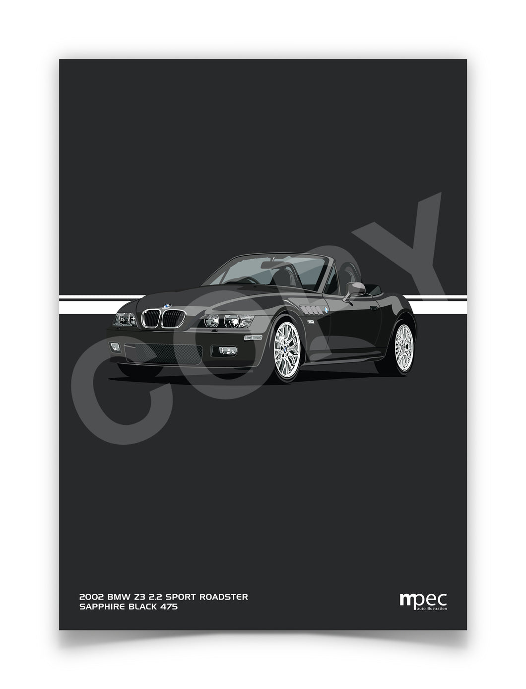 Illustration 2002 BMW Z3 2.2 Roadster Sapphire Black 475