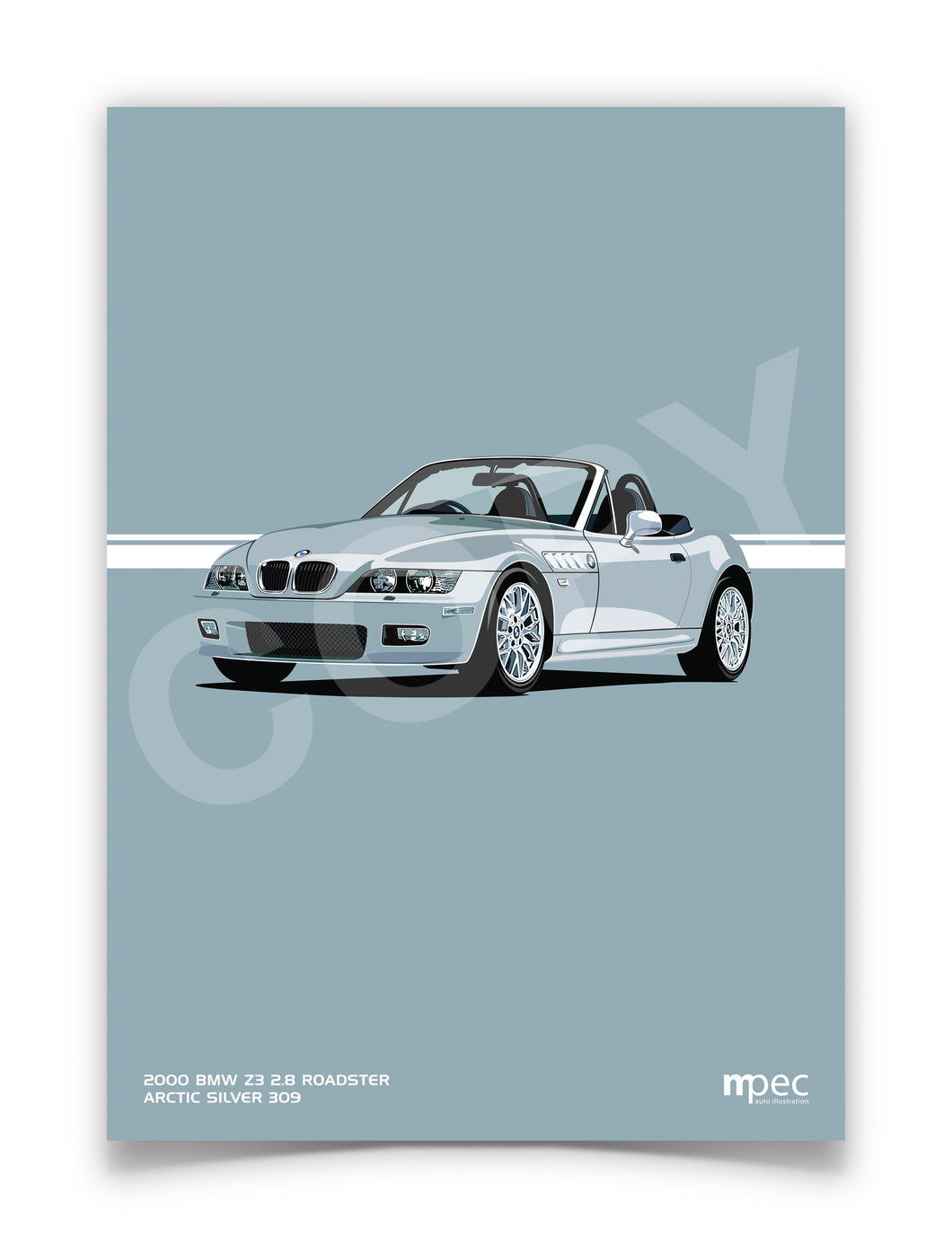 Illustration 2000 BMW Z3 2.8 Roadster Arctic Silver 309