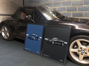 Print of 2001 BMW Z3 2.2 Roadster in Titan Silver 354