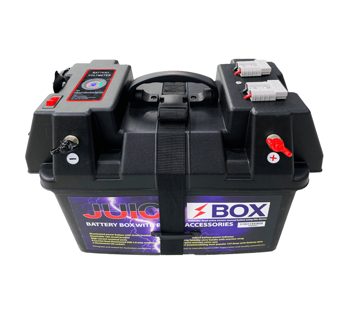 Australia 4WD | ONLY $95 | Juice Box 12V Battery Box