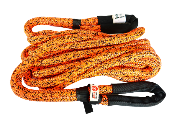 Carbon Offroad Monkey Fist 12 Tonne Kinetic Recovery Rope Kit 9 metre x 24mm
