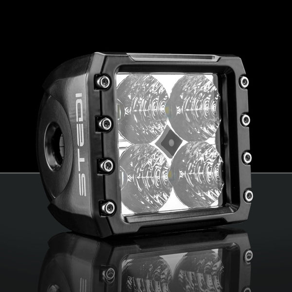 Stedi C-4 Black Edition LED Light Cube Flood Light