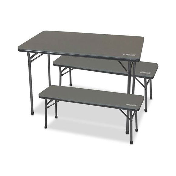 Coleman Table Folding and Bench Set