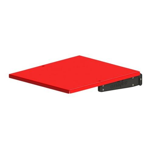 Clearview ES-220 Plus Clip-on Tray (Large Red)