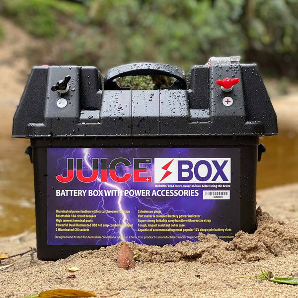 JuiceBox 12V Power Battery Box
