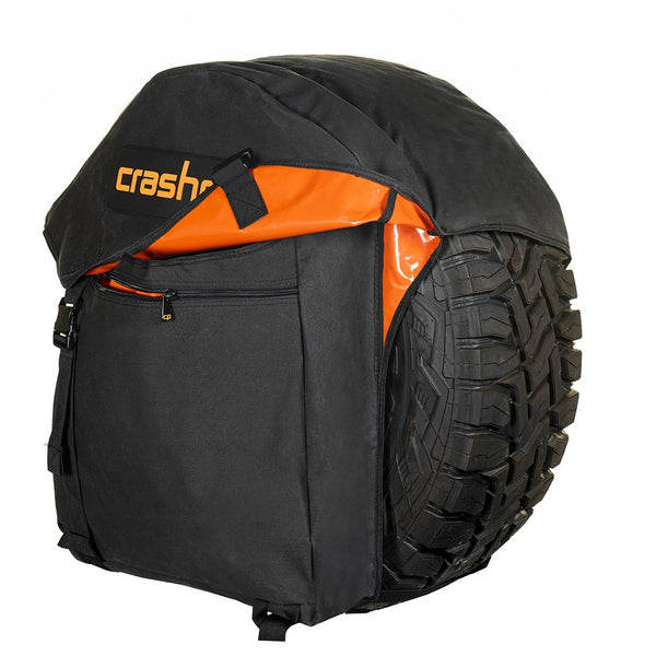 Crashpad WHEEL BAG - JUNIOR STEALTH (Black)