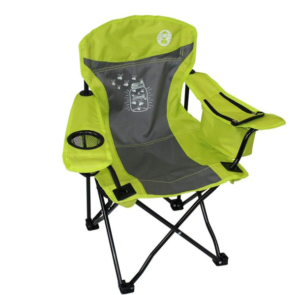 Coleman Chair Quad Kids FyreFly Illumi-bug (Green)
