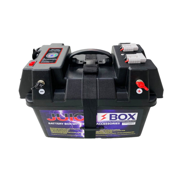 JuiceBox 12V Power Battery Box with Accessories