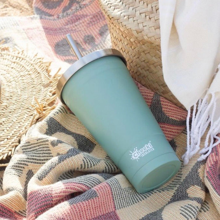 500ml Stainless Steel Insulated Tumbler - Two Colours