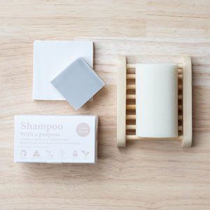SHAMPOO WITH A PURPOSE Shampoo & Conditioner Bar Colour Treated - 135g