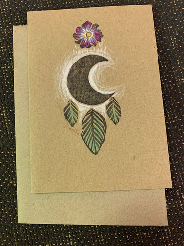 Blank Greeting/Gift Card Recycled Cardbord/Paper