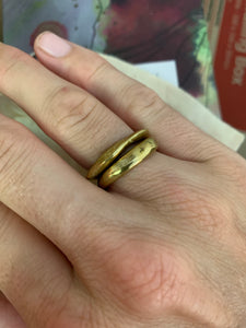 Recycled Brass Rings