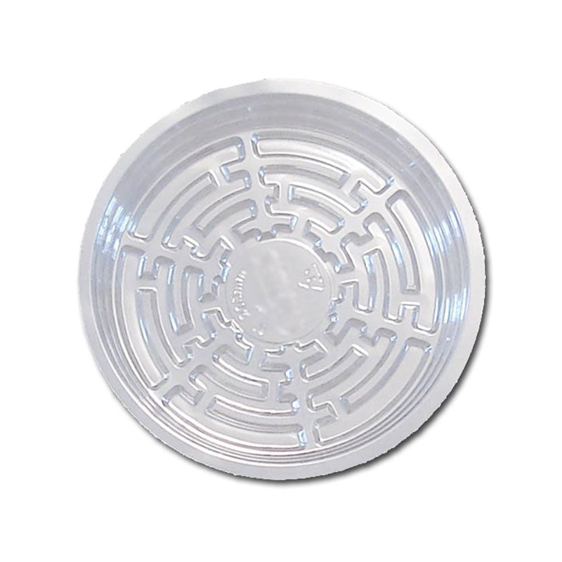 7 Clear Plastic Saucer