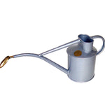 Haws 1 Quart Metal Watering Can With Rose - Titanium