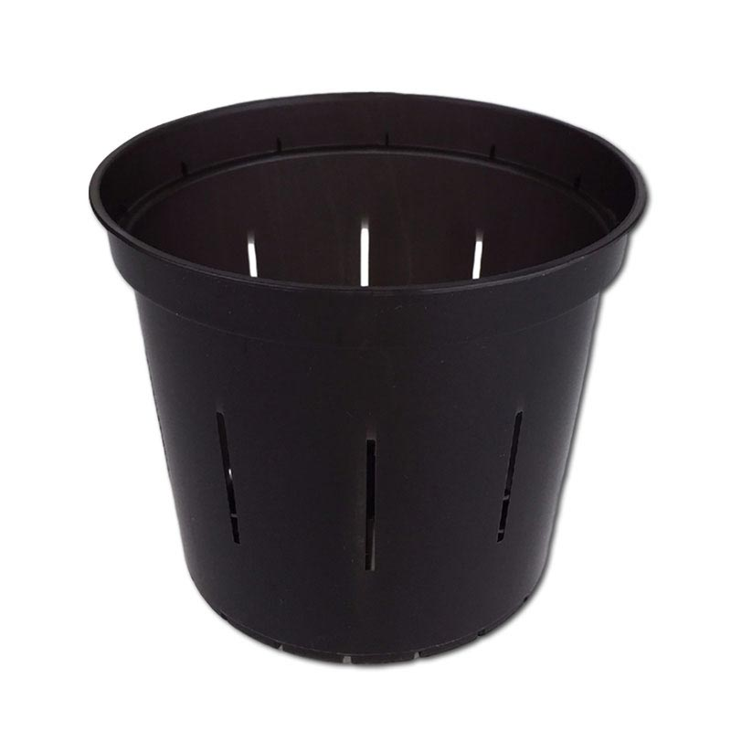 Black Onyx Slotted Violet Pot - 5 Inch - Slot-Pots