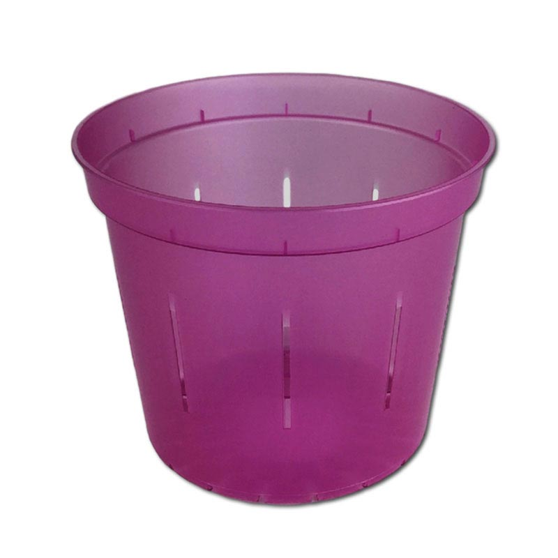 Wild Orchid Slotted Violet Pot - 5 Inch - Slot-Pots