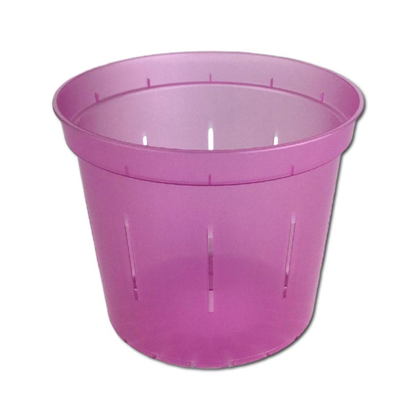 Rose Quartz Slotted Violet Pot - 5 Inch - Slot-Pots