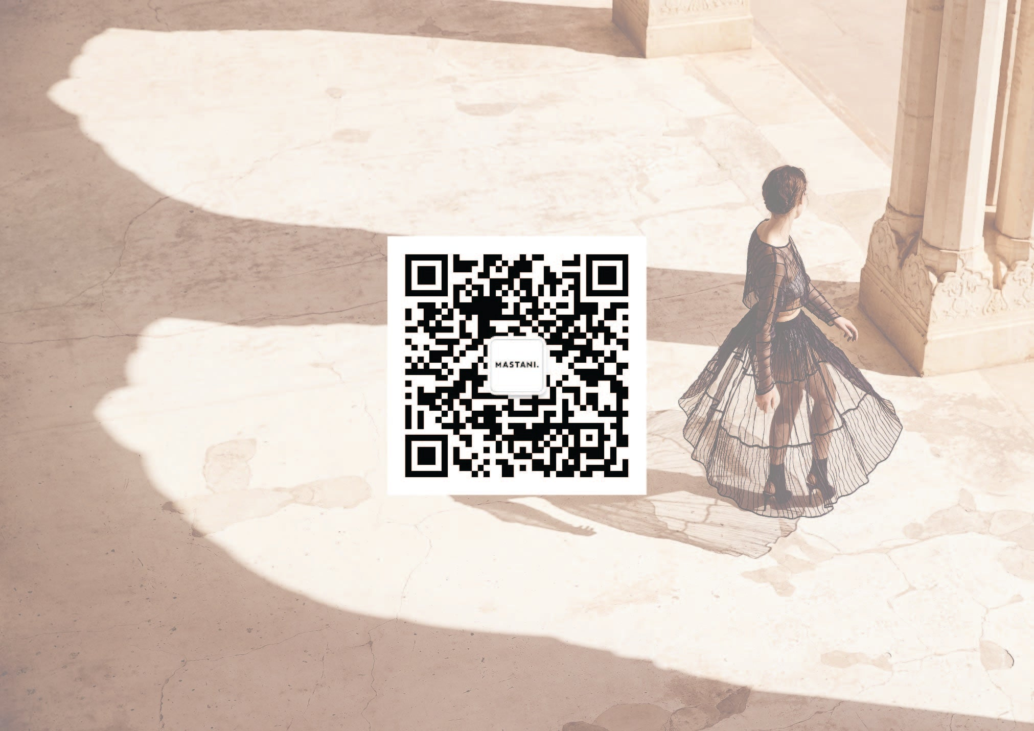 SCAN QR CODE TO FOLLOW MASTANI ON WECHAT