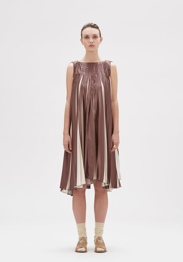 Roksana Pleated Dress