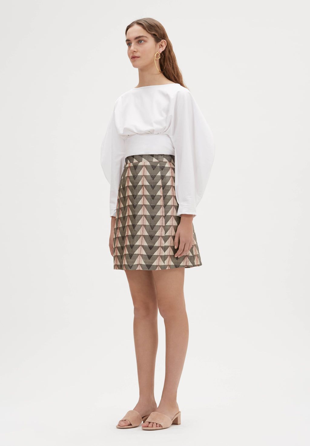 Farida Hand-Loomed Skirt