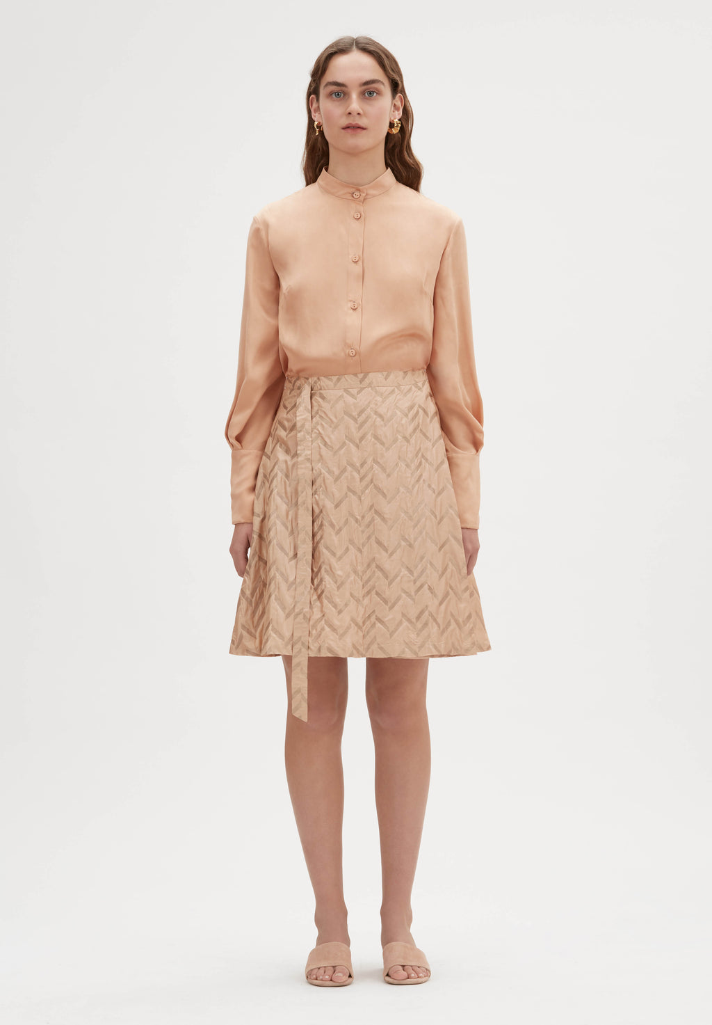 Ada Hand-Loomed Skirt
