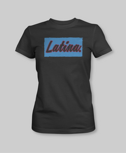 Latina  black tshirt culture dominican empowered