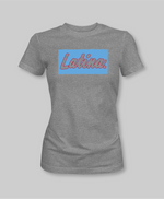 Latina af grey tshirt for women cultured empowered clothing