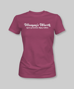 Woman's Worth Tee