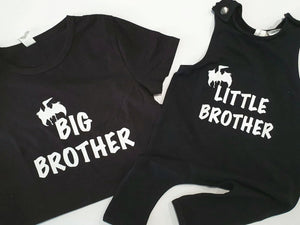 Little Brother- Slouch Romper