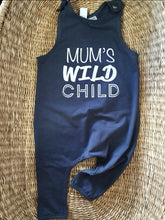 Load image into Gallery viewer, Wild Child- Slouch Romper