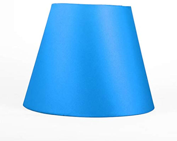 Barrel Fabric Lampshade for Chandeliers Lights Table Floor Wall Lamps Replacement, Multiple Color