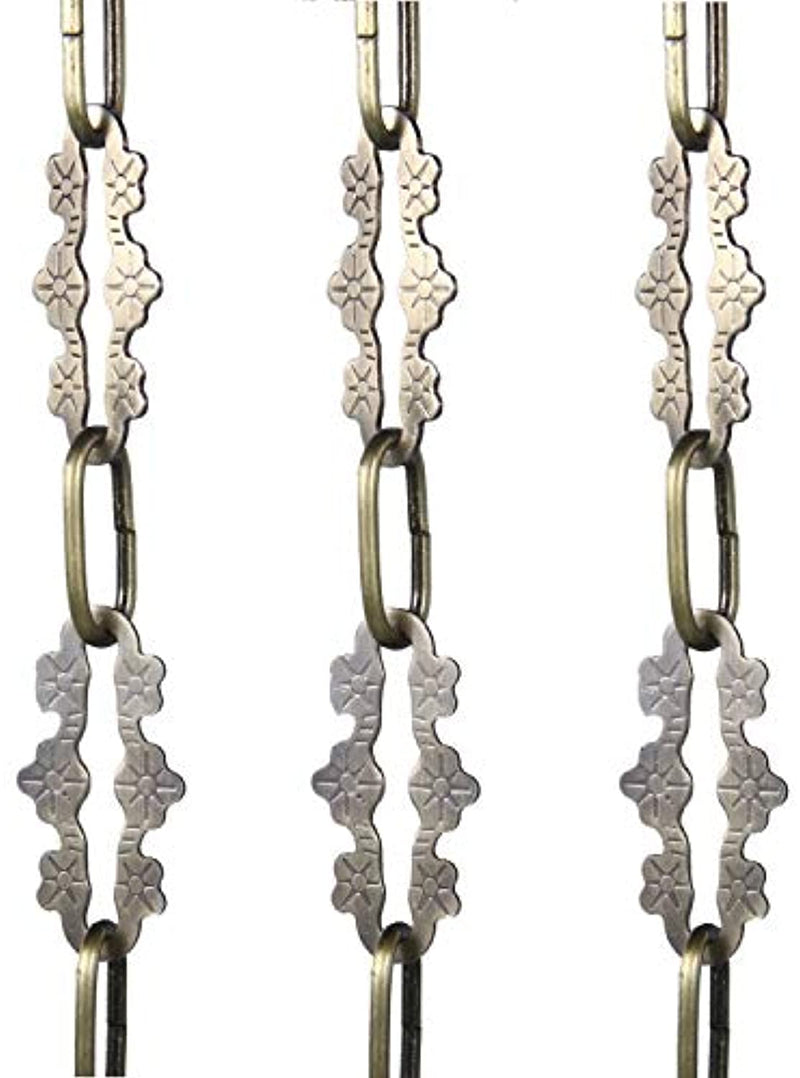 Lighting Chain for Pendant Chandelier Light Fixture Hanging Lighting Chain Multiple Specifications (Bronze)