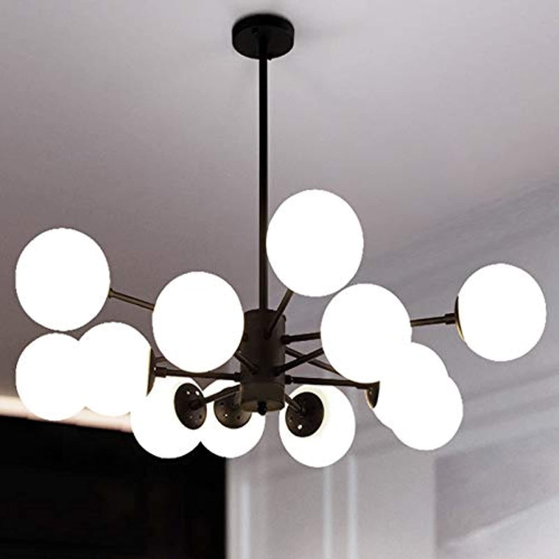 Lighting Fixture Replacement Globes Neckless Top Opening Frosted Opal Glass Lamp Shop