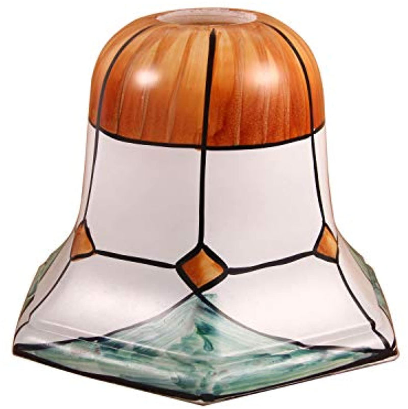 Tiffany Style Handmade Lampshade Replacement,Glass Lampshade,Flush Mount Light Glass Shade Ceiling Light Fixture for Chandelier Light,Wall Lamp,Desk Lamp (009)