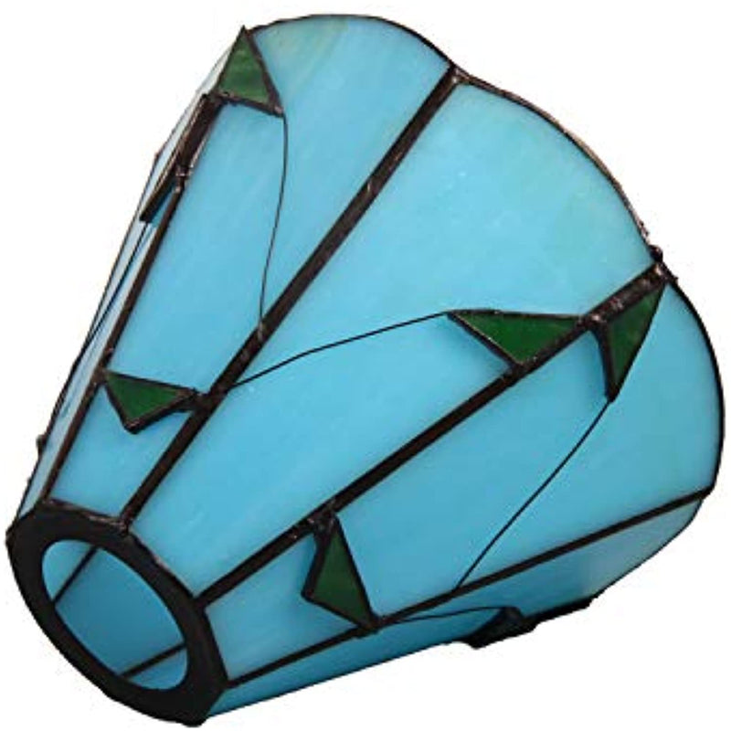 Tiffany Style Flower Stained Glass Replacement Table Lamp Shades (Only Lampshade,Exclude Accessories) (015)