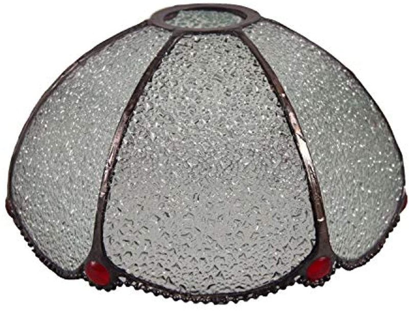 Tiffany Style Flower Stained Glass Replacement Table Lamp Shades (Only Lampshade,Exclude Accessories) (014)