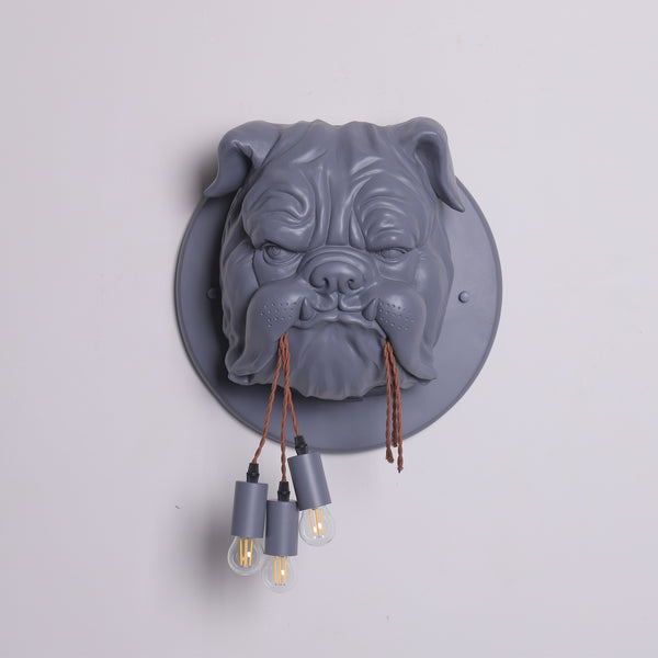 Dog Head Wall Lamp Wall Light Wall Sconces Fixture for Corridor,Bedroom,Kitchen,Restaurant,Cafe Bar, Living Room
